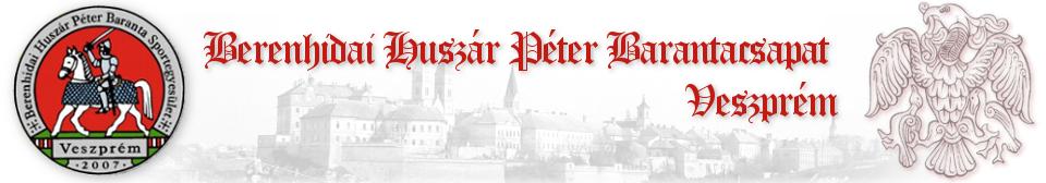 Berenhidai Huszár Péter Barantacsapat, Veszprém